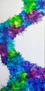 cool melted crayon art