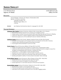 Resume Template Pages 80 Images Resume Templates Printable