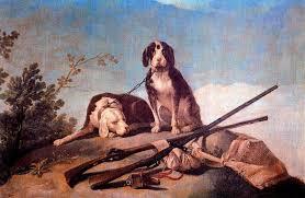 os cães na coleira petróleo por francisco de goya 1746 1828 spain
