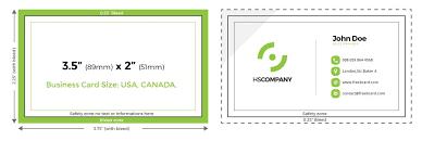 Business Card Specs Full Bleed Business Cards Full Bleedness Card