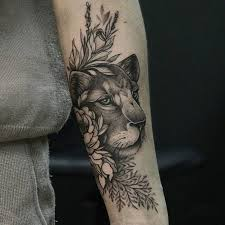 lioness tattoo. Delighful Tattoo Floral Lioness Tattoo For Lioness Tattoo
