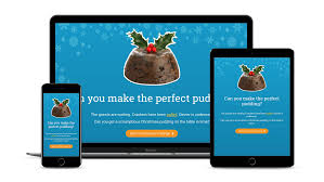 5 elucidat elearning examples to inspire your next course in 2017 christmas pudding challenge uses polling tooltips timer and a variety of quiz page types to engage learners