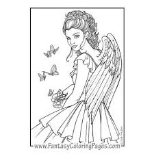 Small Picture Fantasy Coloring Pages Worlds Best Coloring Pages Mermaids