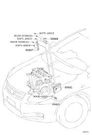 Electronic fuel injection system toyota corolla sed wg ce140 nze141 zre14 zze14 asia and middle east