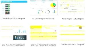 One Pager Project Template One Page Report Template Team Report Template One Page To