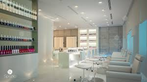 Simple Beauty Parlour Design Modern Beauty Salon Interior Design In Dubai Hair Nail