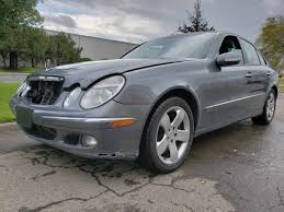 Relentless rationality wrapped in stylish bodywork. 2006 Mercedes E500 4matic Awd 120k Needs Work Mbworld Org Forums