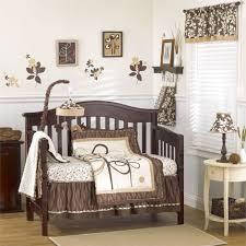 unique baby bedding brown