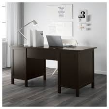 white gray solid wood office. IKEA HEMNES Desk Cable Outlet For Easy Management. Solid Wood Is A Durable Natural White Gray Office I