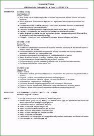 Registered Nurse Resume Template Free Specialized Med Surg Rn Resume