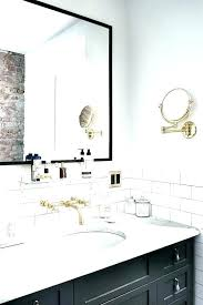 wall mirrors for bathroom mounted bath mirror vanity framed