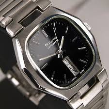 17 best images about vintage bulova men s watch bulova automatic day date black dial authentic swiss rare used men s watch