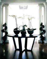 round entrance hall tables pedestal foyer table entry entryway design ideas decor items round entry hall table