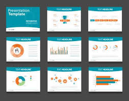 Colorful Infographic Business Presentation Template Set.powerpoint ...