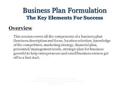 Business Planning 2004 The Entrepreneur Certificate Program Is A