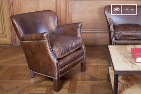 turner leather armchair