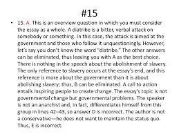 "civil disobedience"" practice exam answers a this is an  a this is an overview question in which you must consider"