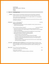 11 Cosmetology Resume Templates Resign Latter