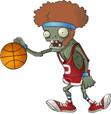 Image result for zombie basketball player