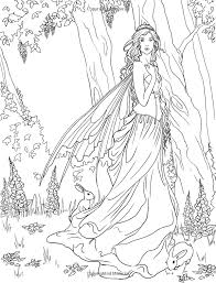 Small Picture printable 17 gothic fairy coloring pages 3985 complicated fairy