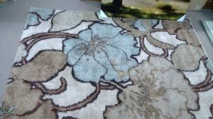 picture of blue and grey rug