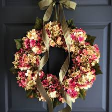front door decor summerWreaths  Summer Wreath  Front Door from HomeHearthGarden on