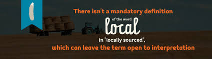 open definition of local in locally sourced