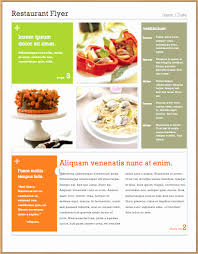 free food menu templates free food menu template inspirational free flyer food templates