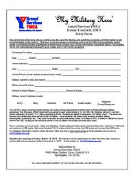 armed forces ymca essay contest usmc life paperwork for asymca my military hero essay contest entry form