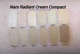 Nars Radiant Cream Compact Foundation Review Swatches Of