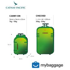 Travel Luggage Size Chart My Baggage Luggage Shipping