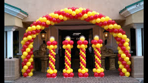 Balloon Designs How To Make A Balloon Arch Balloon Decoration Ideas