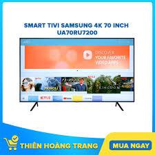 hcm] Smart Tivi Samsung 4k 70 Inch 70ru7200 – Bảo Hành Chính Hãng 24 Tháng  | - Hazomi.com - Mua Sắm Trực Tuyến Số 1 Việt Nam