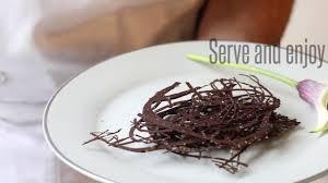 How To Make Chocolate Swirls Easy Chocolate Decorations