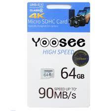 Thẻ Nhớ Có Box MicroSDHC Yoosee 64GB Màu Ngẫu Nhiên High Speed U3 - Chuyên  Camera Và Điện Thoại - Hàng Nhập Khẩu - Thẻ nhớ điện thoại
