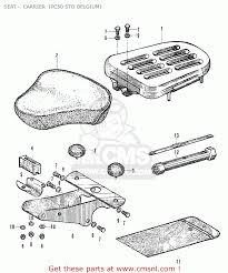Honda pc50 parts wiring diagram and fuse box
