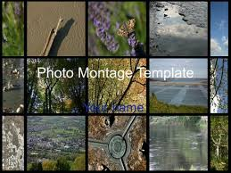 photo collage template powerpoint photo montage template