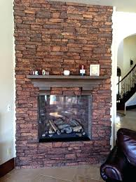 dry stack fireplace stone veneer dry over brick cost stacked stone veneer fireplace surround cost installation