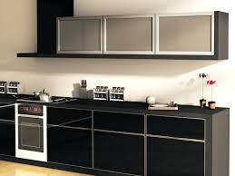 glass cabinets for kitchen image of glass kitchen cabinets black glass kitchen cabinet door designs