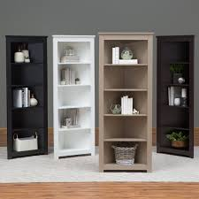 Dakota Mango Corner Bookcase 1