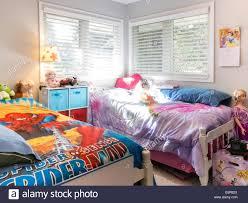 Bruder Und Schwester Schlafzimmer Usa Stockfoto Bild 73021058 Alamy