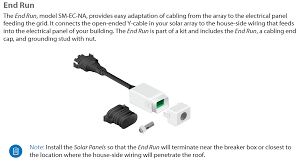 sunmax from end run to main panel branch circuit wiring for sunmax end run connectors accept 10 12 awg 2 05 2 59mm copper wires and can handle up to 15 sunmax microinverters per end run