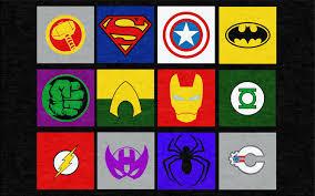 marvel and justice league superheros rug