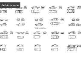 Car Design In Autocad 2d Car Autocad Drawing Free Download