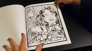 coloring book flip through lacy sunshine s hocus pocus by heather valentin