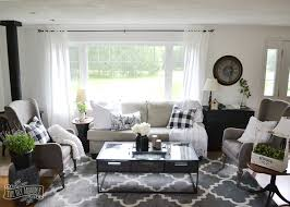 cottage living rooms. Amazing Our Guest Cottage Living Room Neutral Mix And Match Style The Regarding Black Rooms