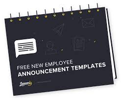 new employee announcement free new employee announcement templates lessonly
