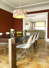 most popular dining room paint colors bright drum chandelier in dining room eclectic with modern living most popular dining room