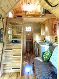 Nickis Colorful Victorian Tiny House After One Year - Tiny houses interior