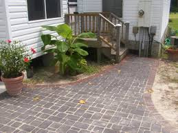 ... Impressive Outdoor Pictures Of Exterior Decoration Patio Paver Design  Ideas : Creative Outdoor Pictures Of Exterior ...